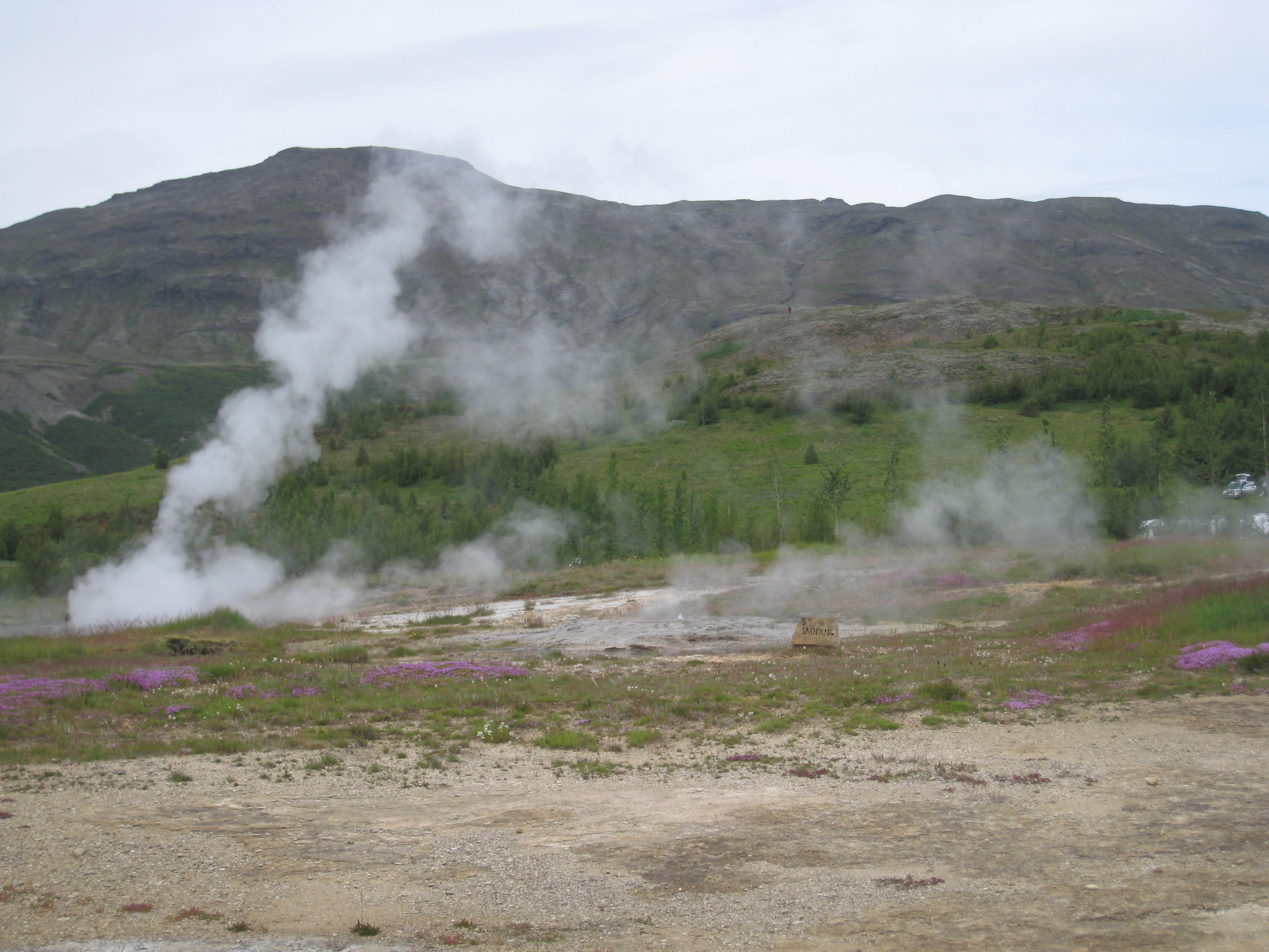 A Steamy Time at Iceland's Geysirs