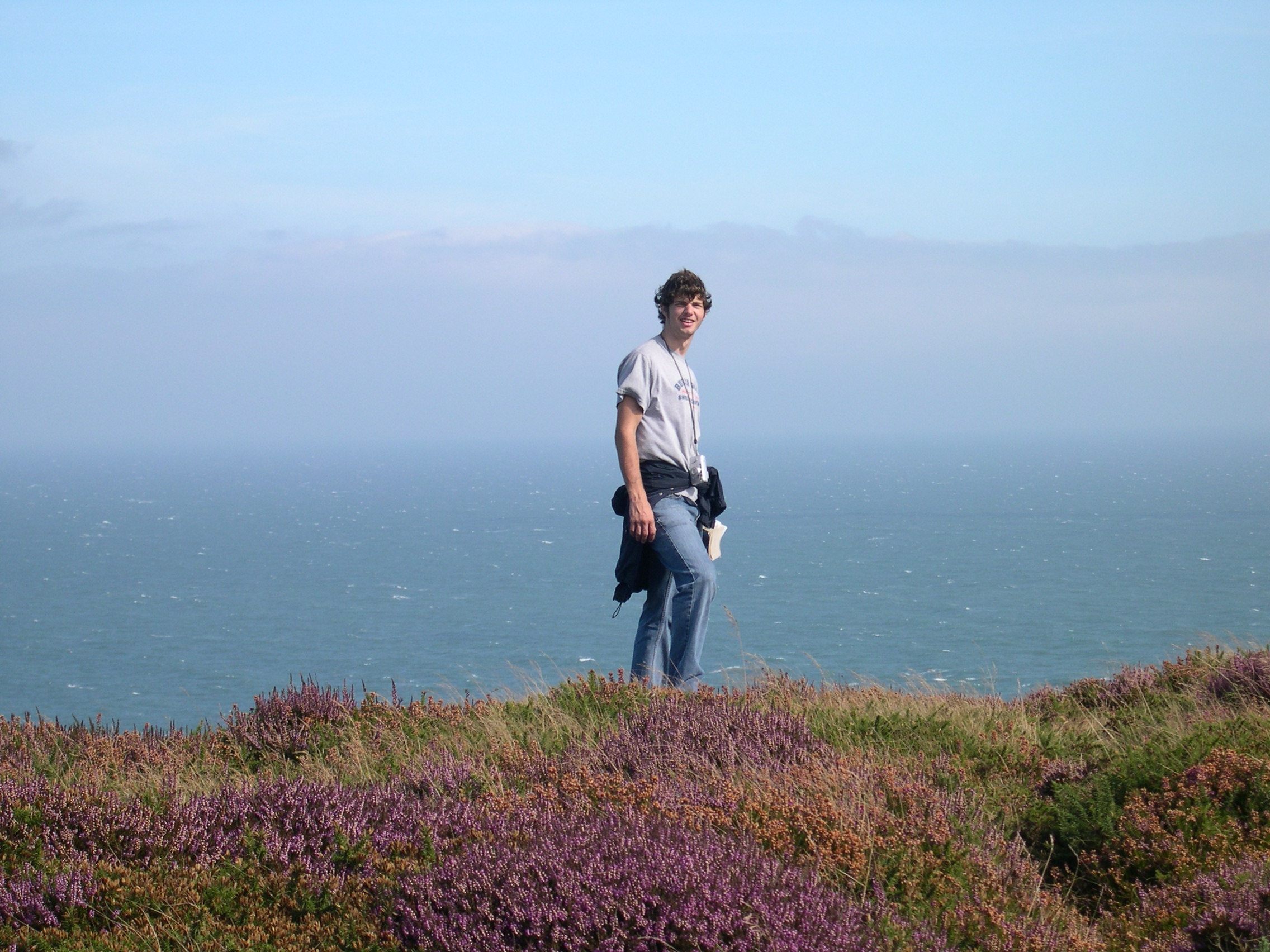 bob on howth cliff