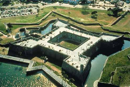 View of Fort Matanzas from above, Creative Commons