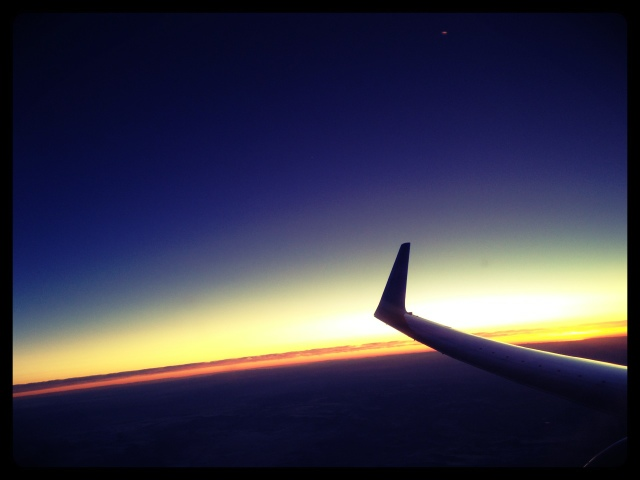 Sunset Sunday: Up in the Air