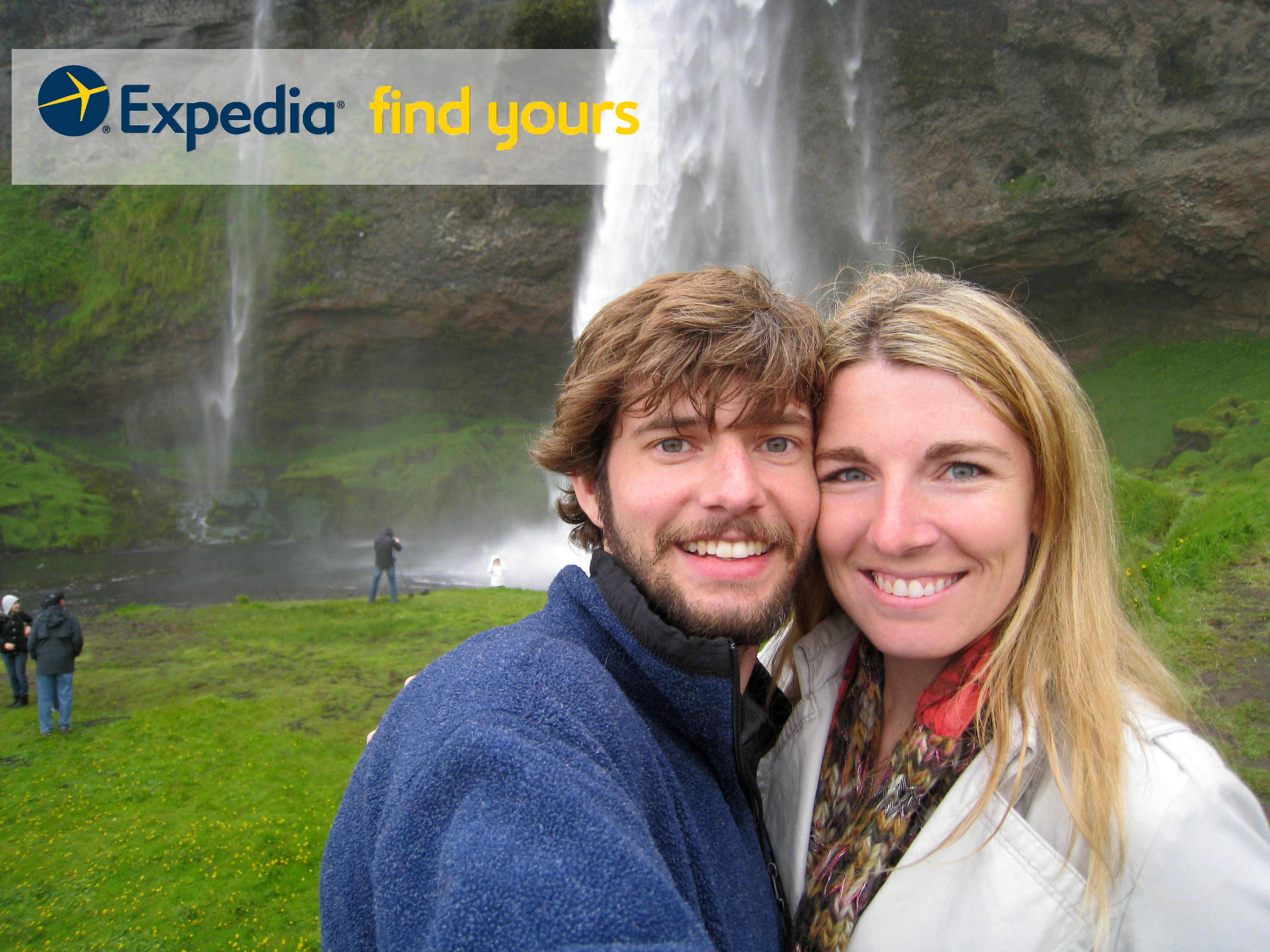 expedia find your love bob and jade with badge2