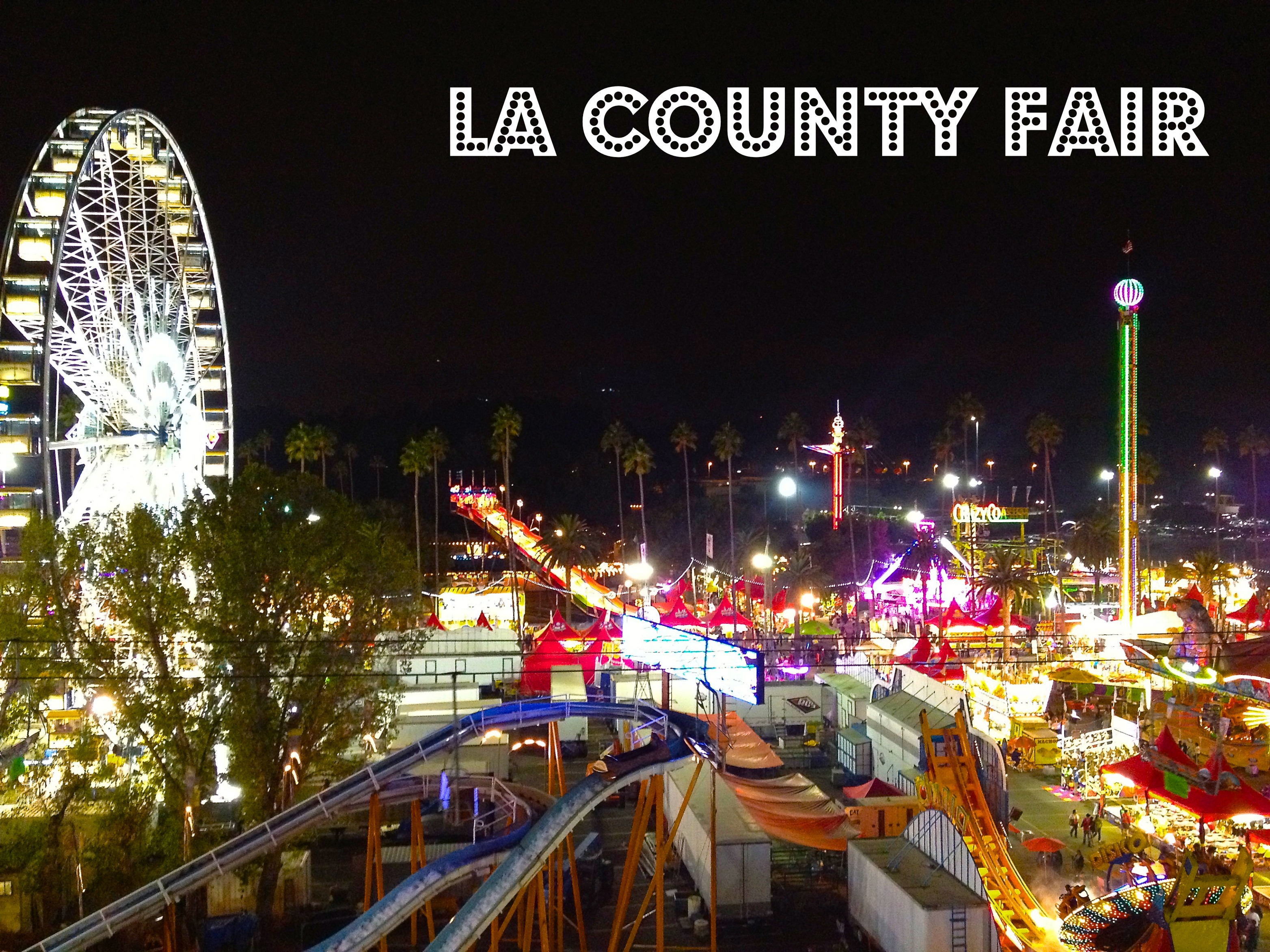 The LA County Fair: Deep Fried Oreos, Lynyrd Skynyrd and Pig Races