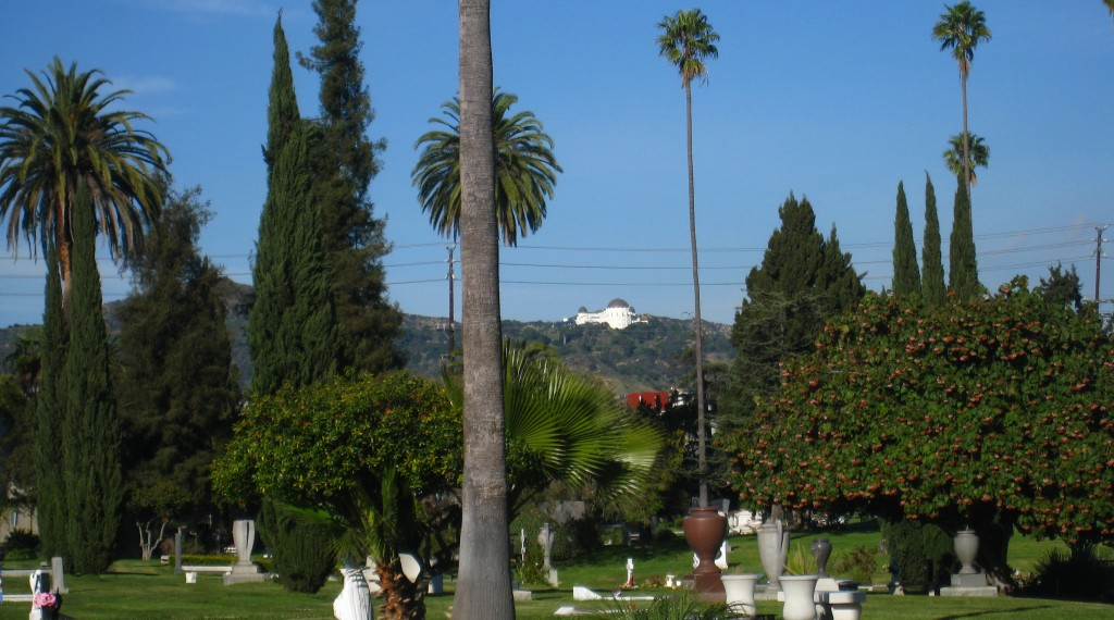 Hollywood Forever and Griffith Observatory