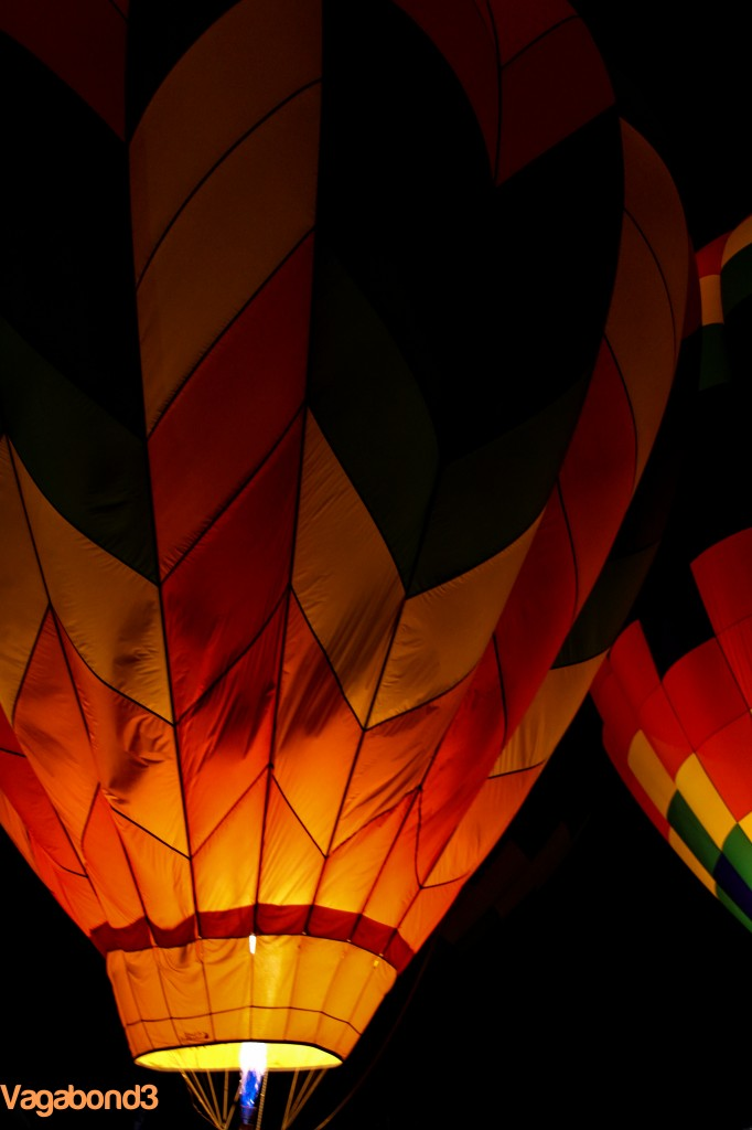 Hot Air Balloon Night Portrait - Vagabond3