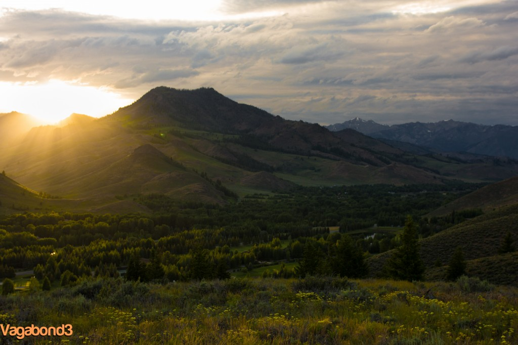 sun valley sunset - vagabond3