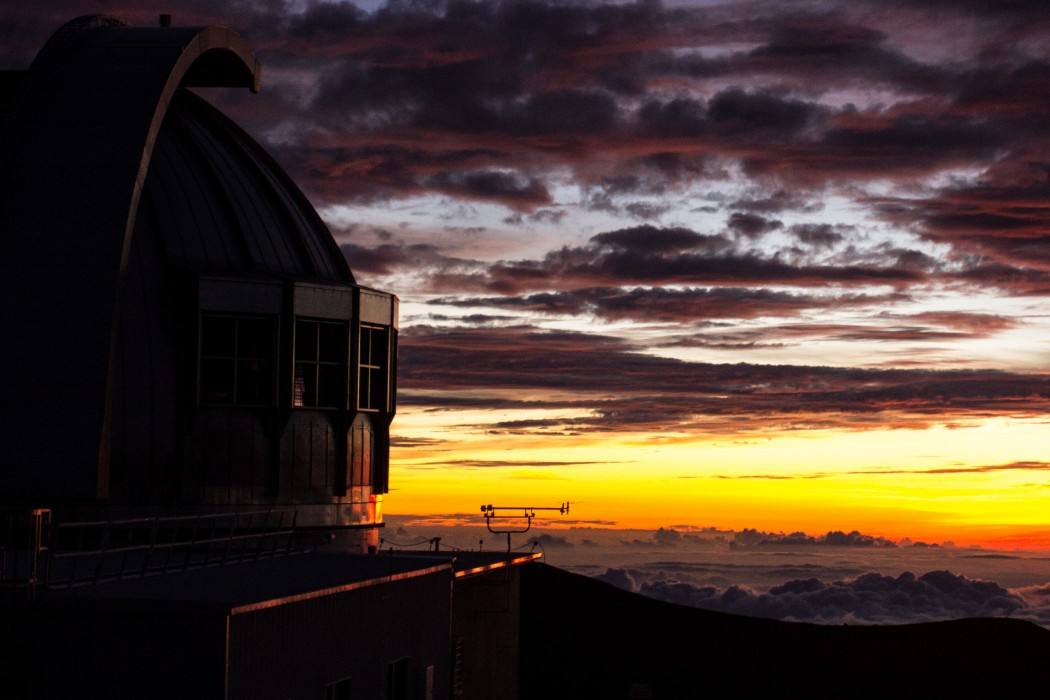 Mauna Kea Sunset Dome and Sky