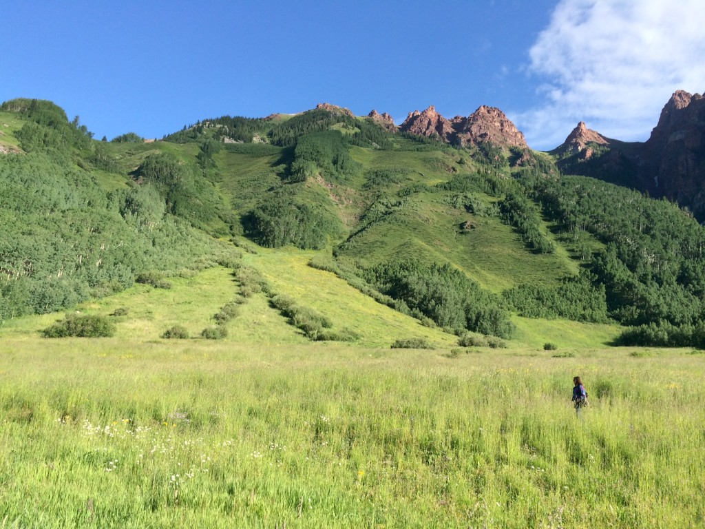 snowmass maroon bells hike