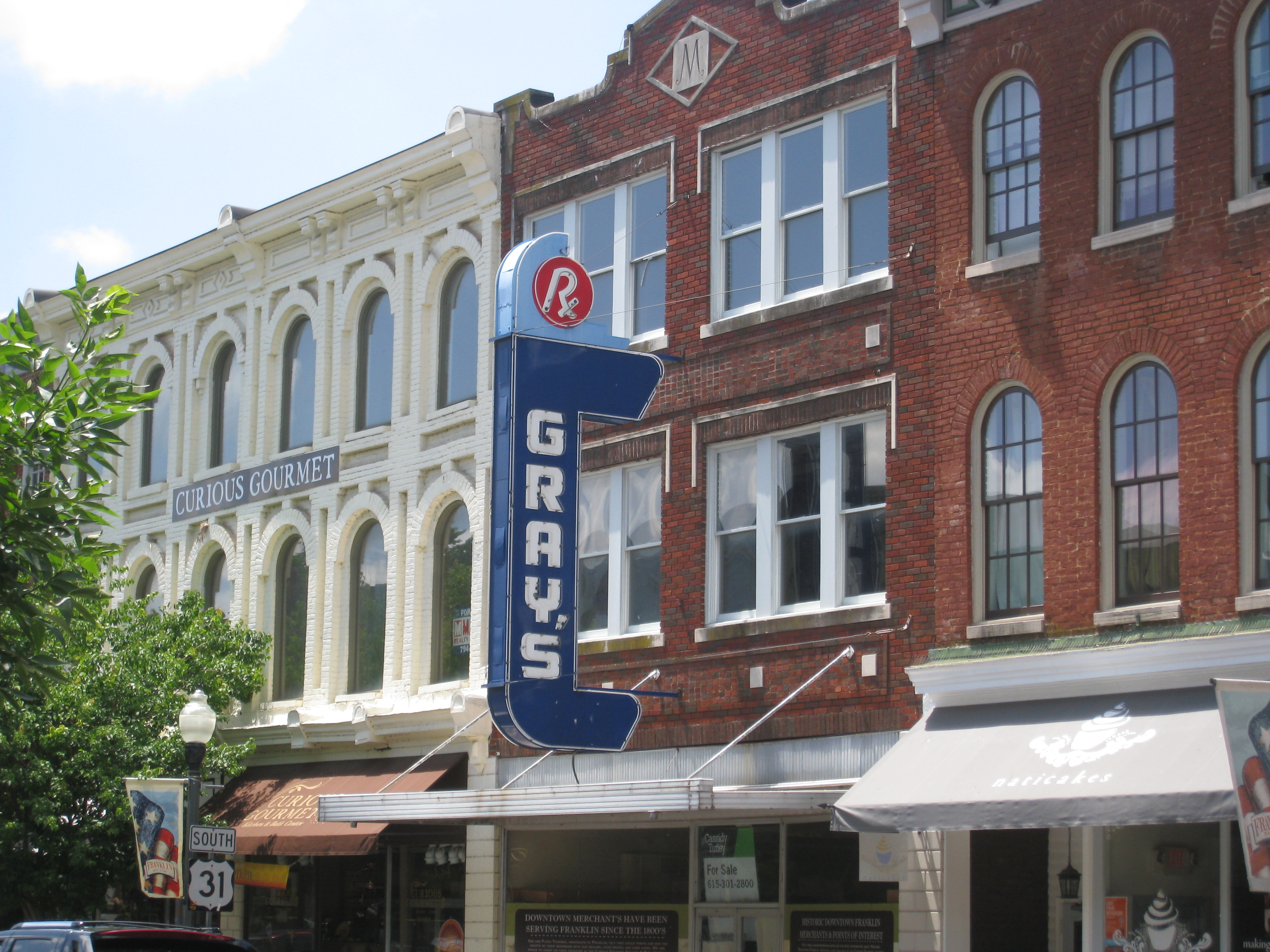 Visit Franklin Tennessee Classic Small Town Usa
