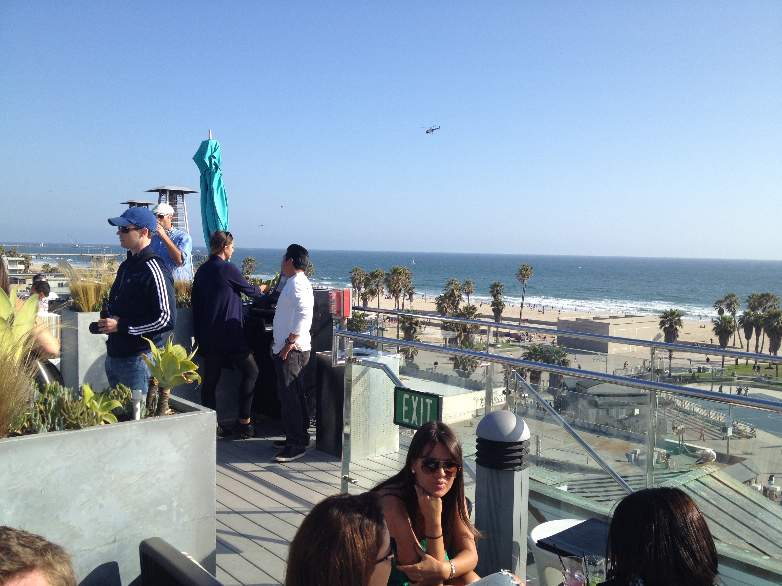 We Started The Afternoon At Erwin Hotel S Rooftop Bar