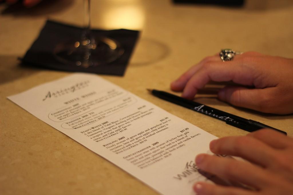 Nashville wine tasting