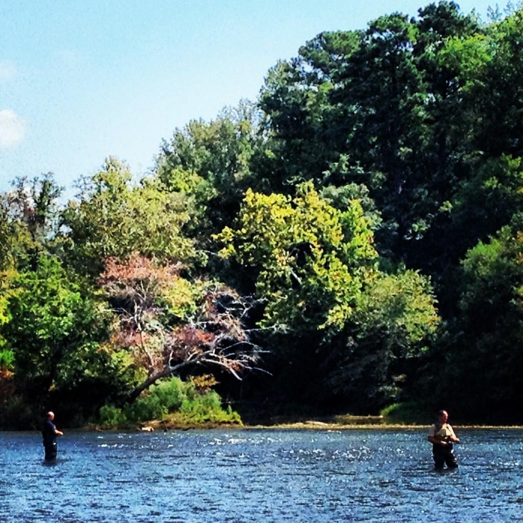fly fishing Chattahoochee River
