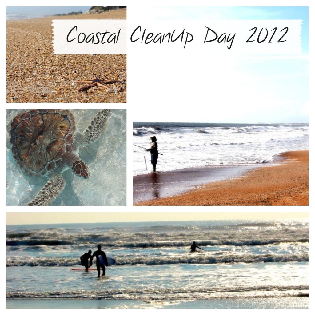 coastal clean up day 2012
