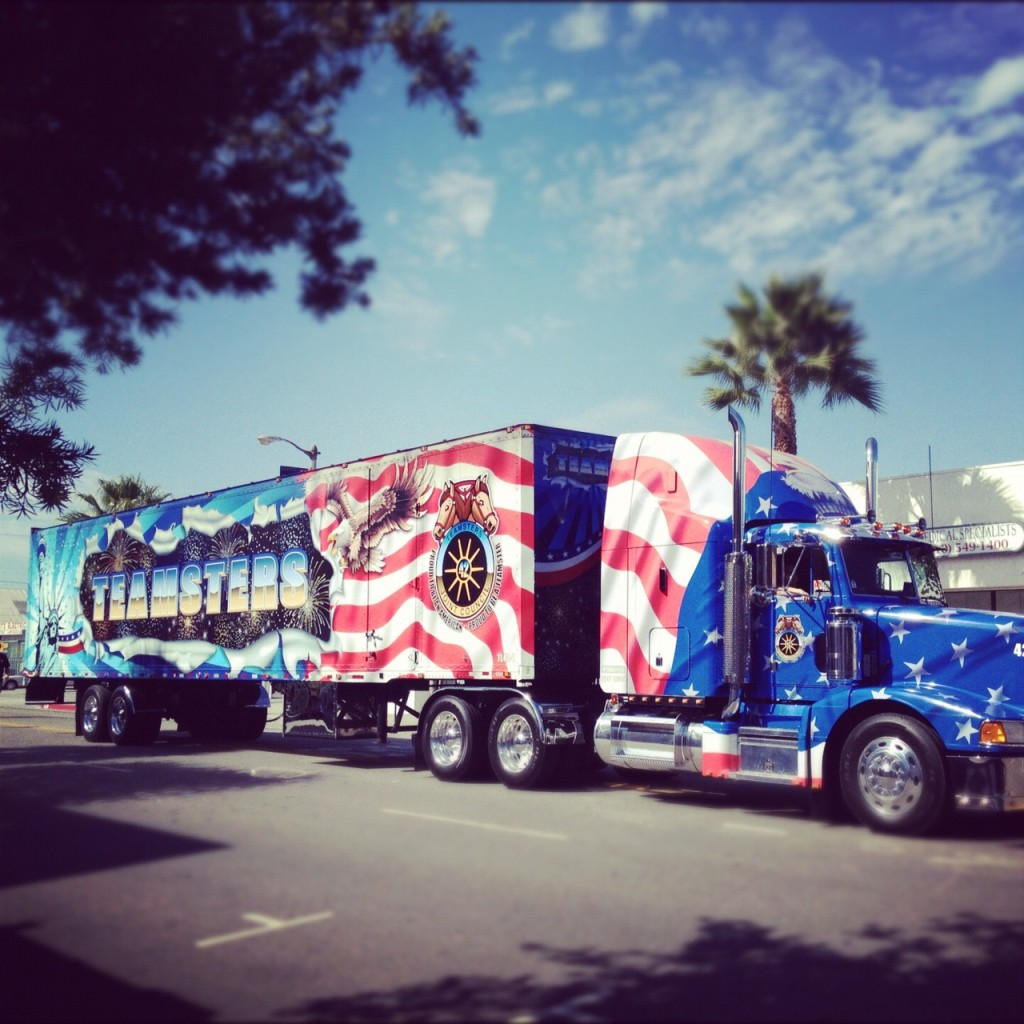 parade truck