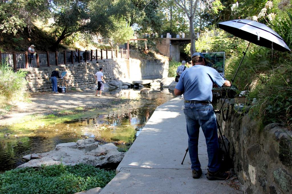 photos of San Luis Obispo creek