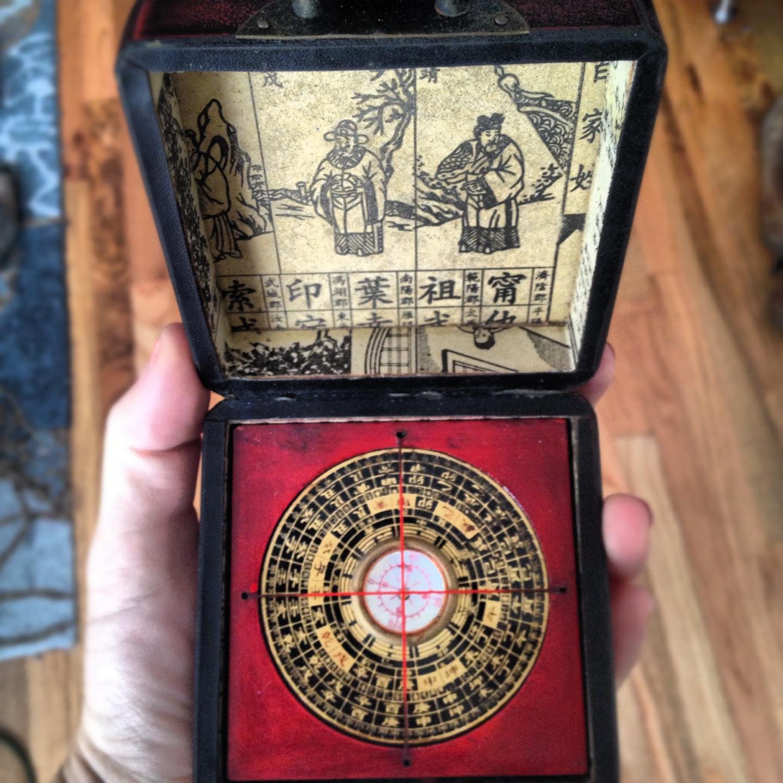 compass from Hong Kong