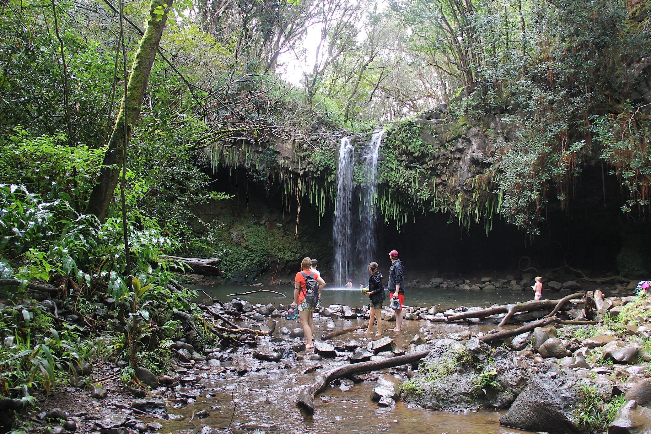 maui waterfalls twin falls