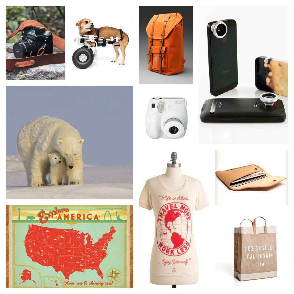 christmas list for travel lovers