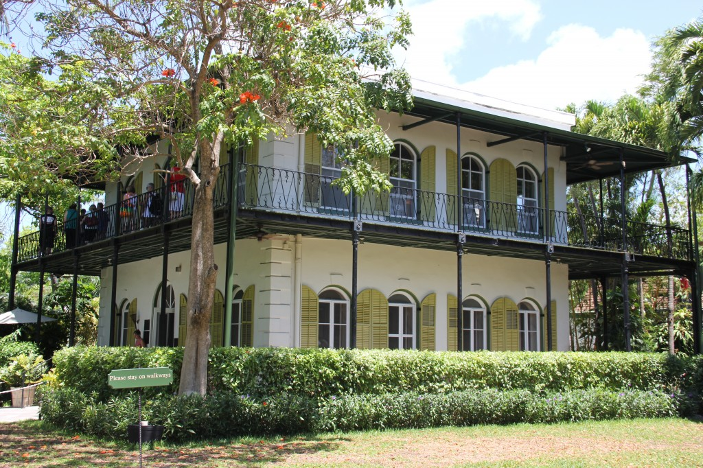 hemingway's house in the florida keys