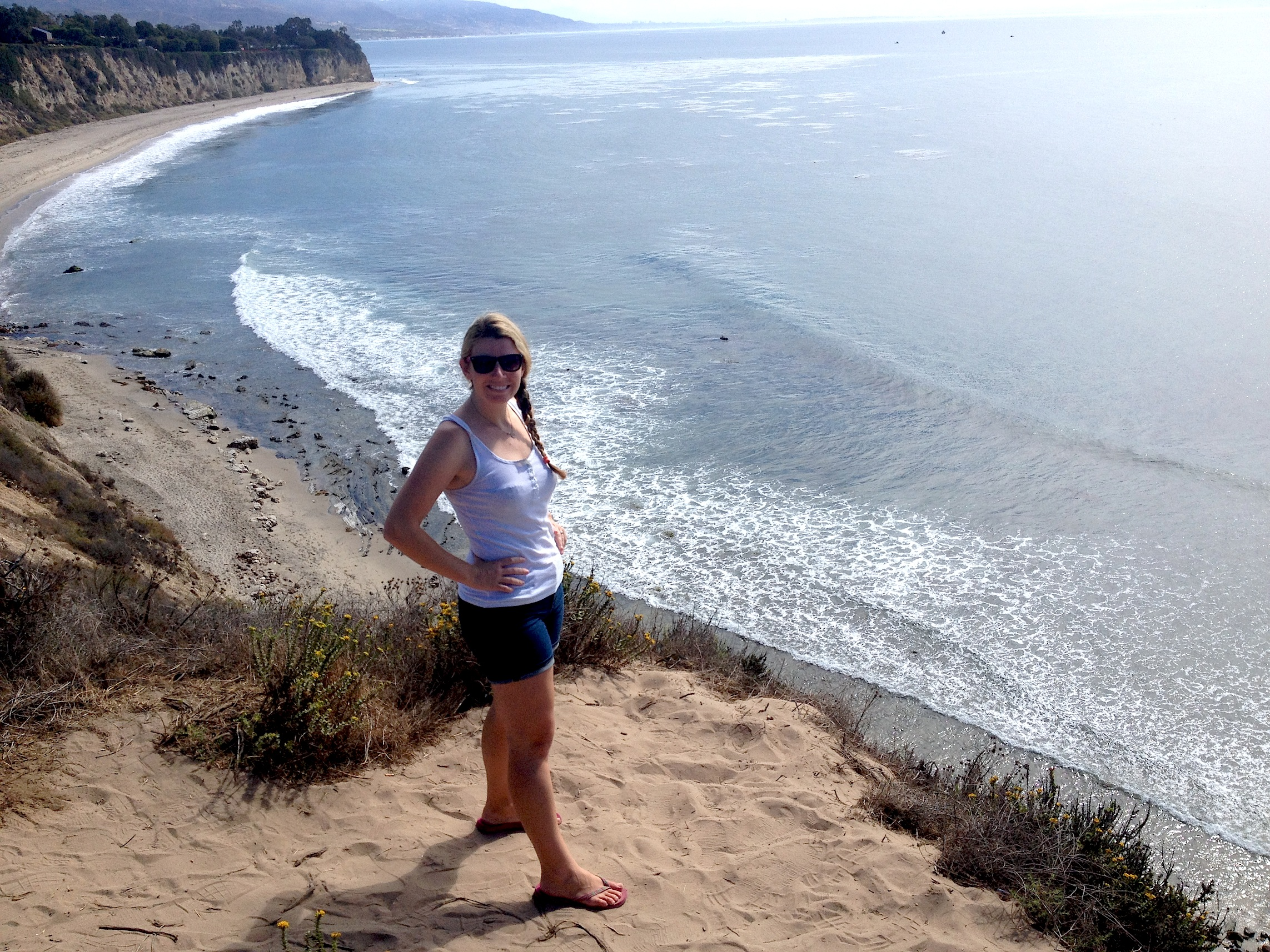 Perfect Day At Point Dume Malibu Beach