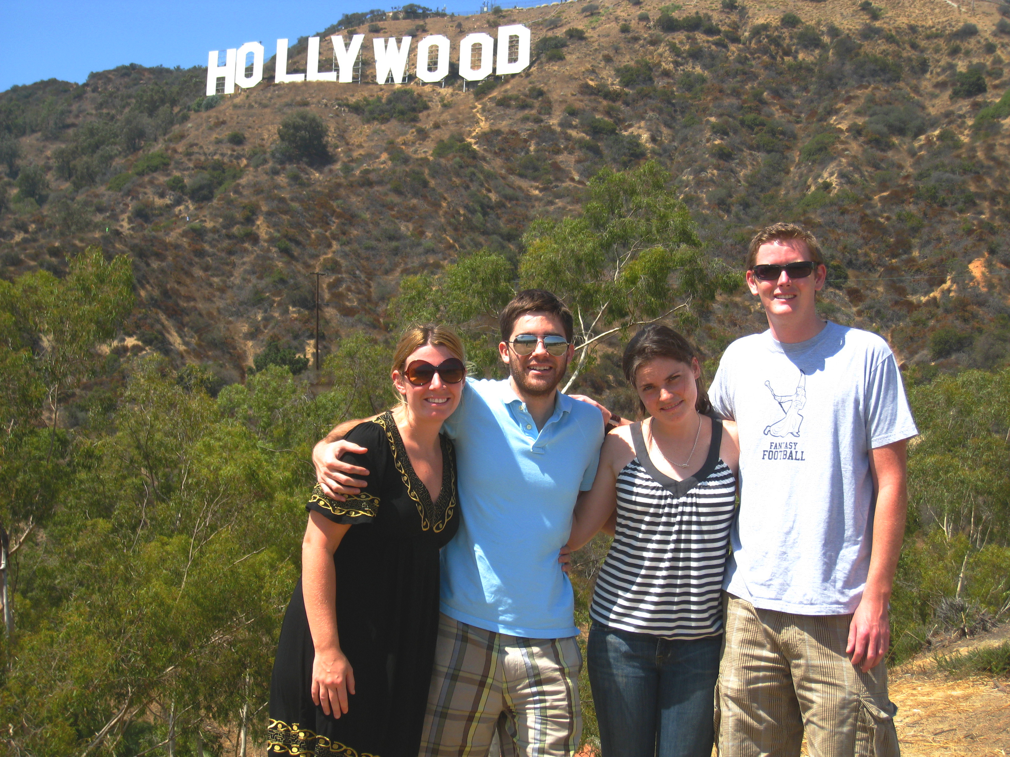 best places to see the hollywood sign