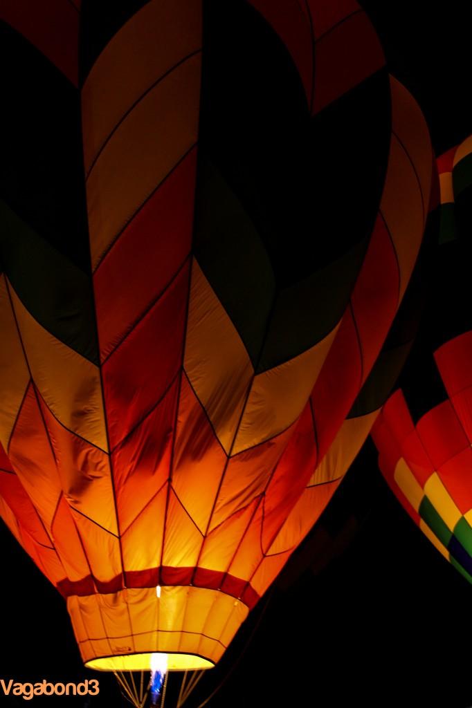 Hot Air Balloon Night Portrait - Vagabond3