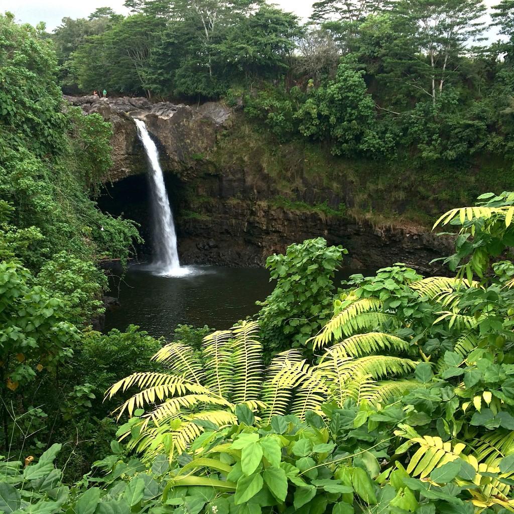 Waterfall in Hawaii near Hilo