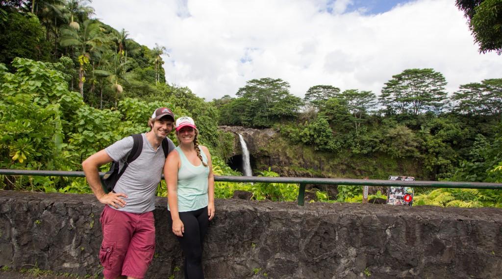 Rainbow Falls - Bob and Jade