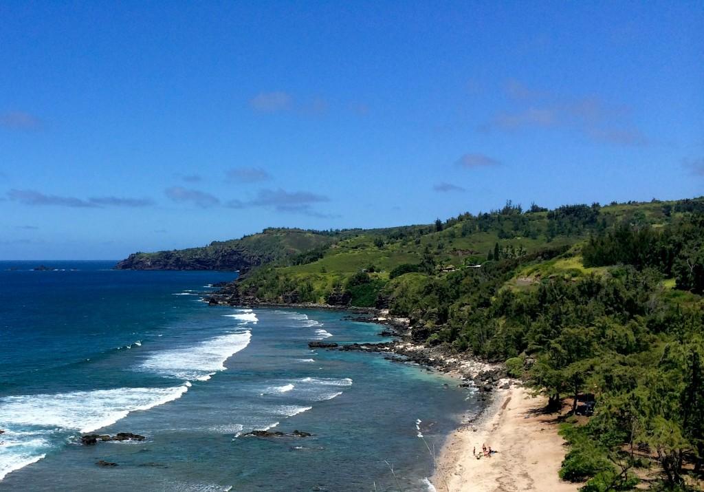 Maui's west side of the island