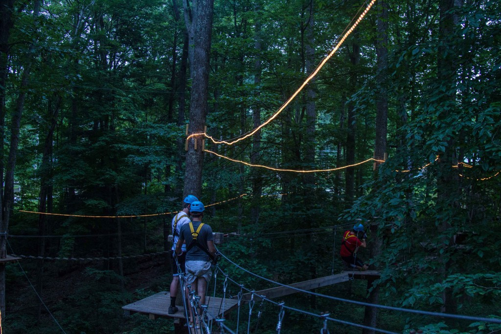 moonlight ropes course